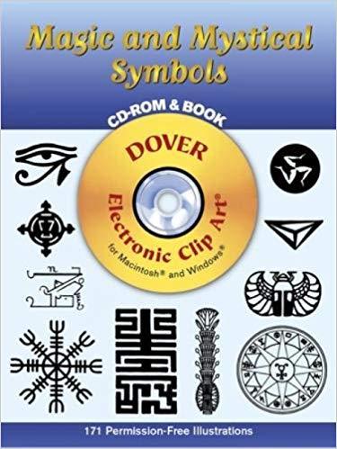 Magic and Mystical Symbols CD.