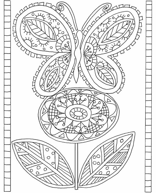 Dover Publications Free Coloring Pages Printable.