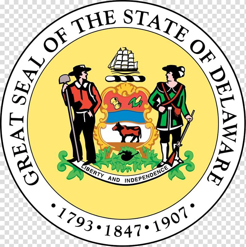 Dover Oklahoma California New Jersey Seal of Delaware.