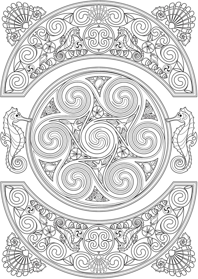 Welcome to Dover Publications From: Creative Haven Deluxe Edition.