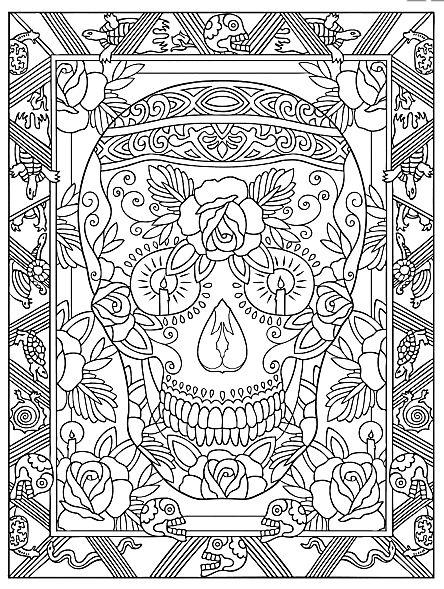 17 Best images about Skulls en tatoo on Pinterest.