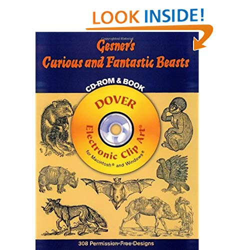 Downloads Gesner's Curious and Fantastic Beasts CD.