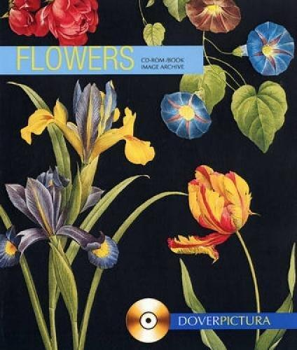 9780486998879: Flowers (Dover Pictura Electronic Clip Art.