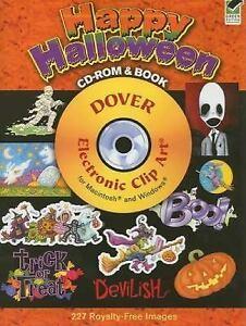 Dover Electronic Clip Art: Happy Halloween (2008, Paperback).