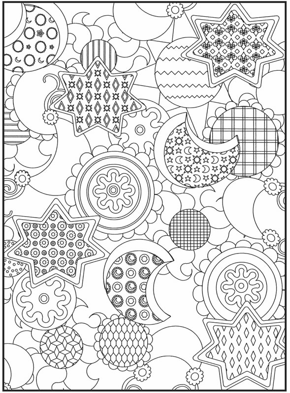 Dover Free Coloring Pages.