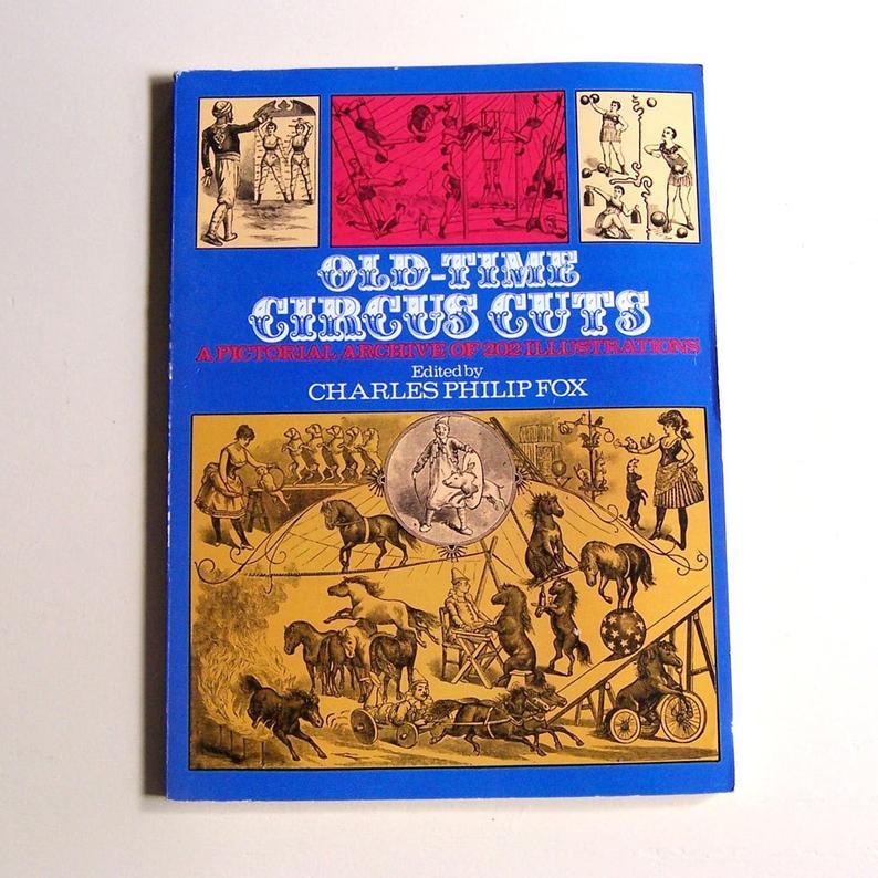 Dover Circus Clip Art Book.