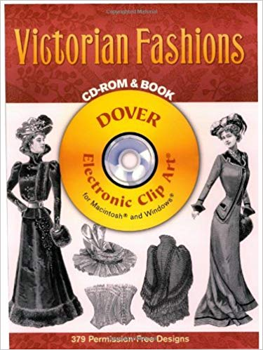 Victorian Fashions CD.