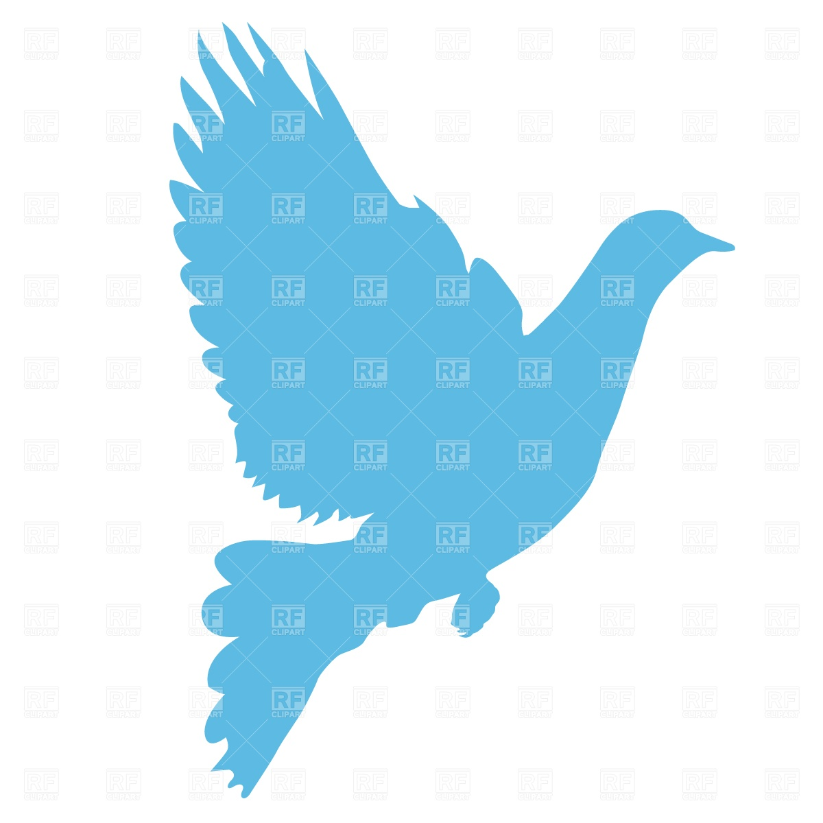 Free Basketball Dove Clipart.
