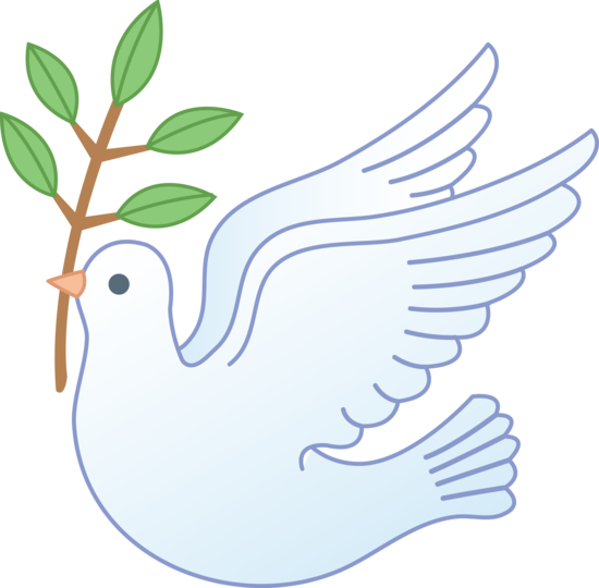 Free wedding doves clipart.