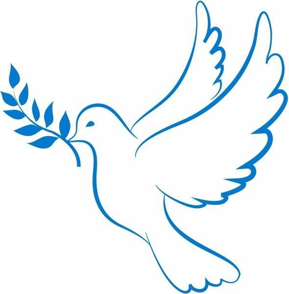 Dove of Peace Free vector in Adobe Illustrator ai ( .AI.
