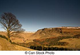Stock Photography of Dovestones reservoir, Greenfield csp7653670.