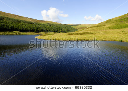Dovestone Reservoir Stock Photos, Royalty.