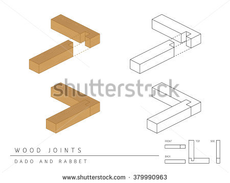 Wood Dovetail Stock Vectors & Vector Clip Art.