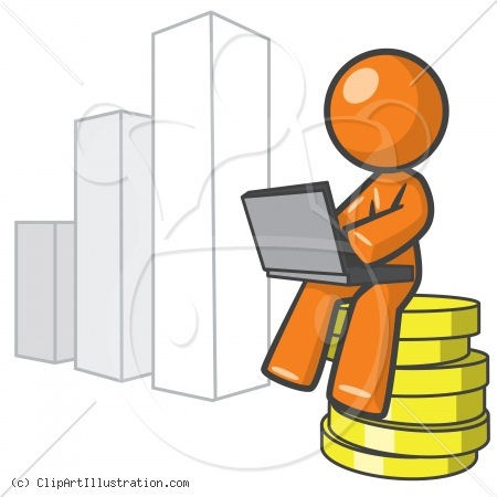 Dow Stock Exchange Clip Art.
