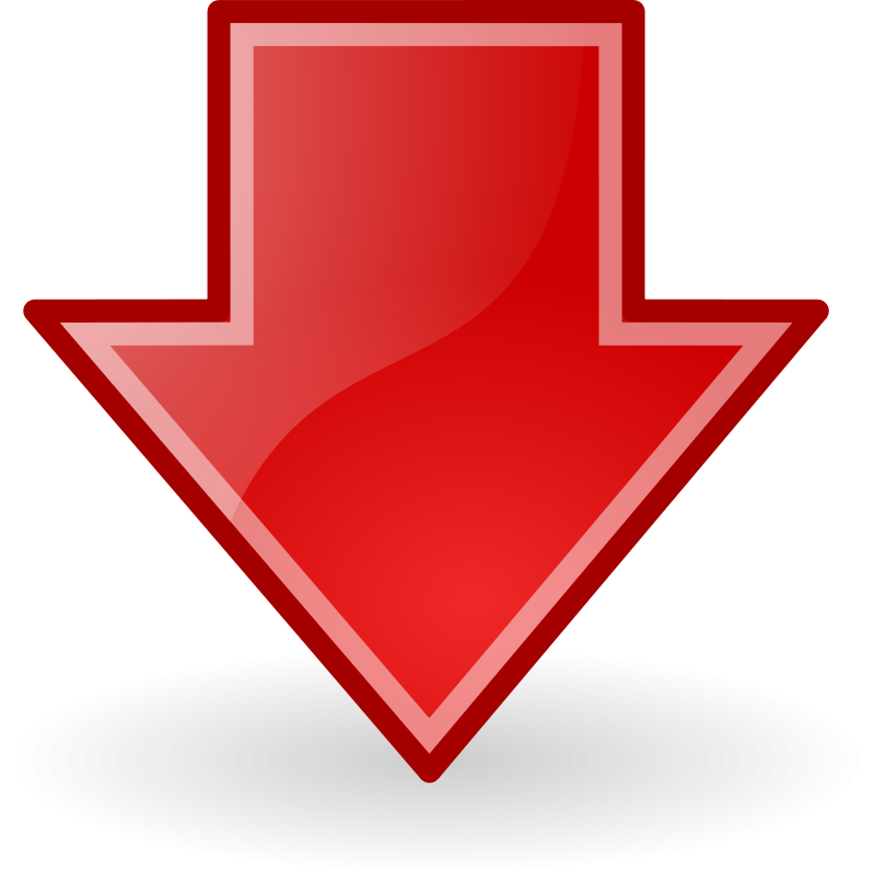 Download Down Arrow PNG Transparent For Designing Projects.
