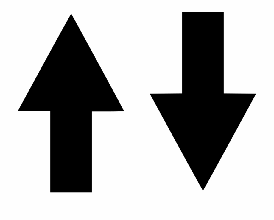 Up Down Arrow Png.
