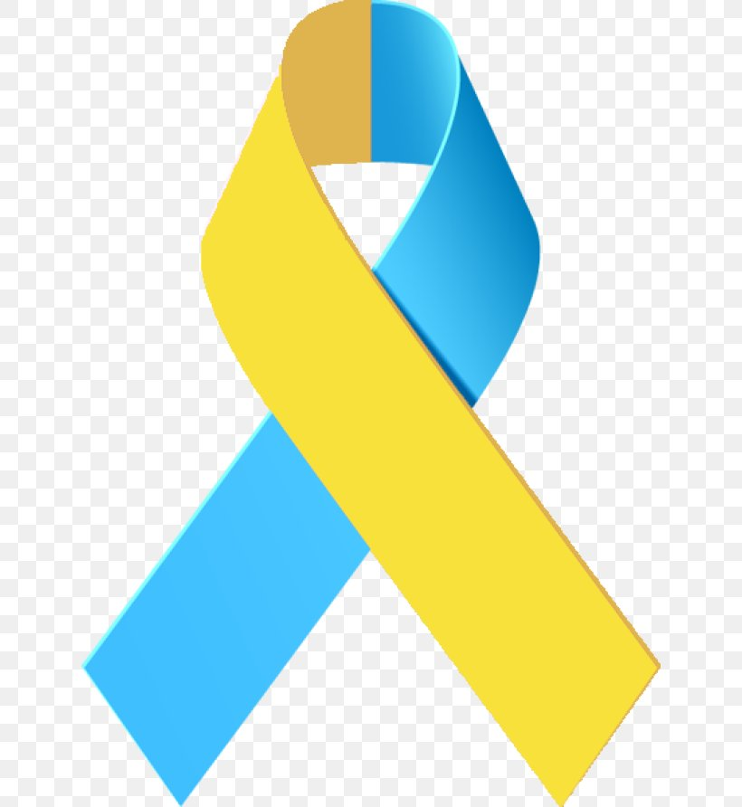 Awareness Ribbon Down Syndrome Clip Art, PNG, 640x892px.