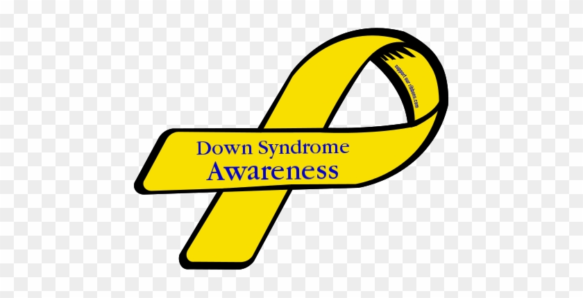 Download Free png Down Syndrome Awareness Ribbon Clipart.