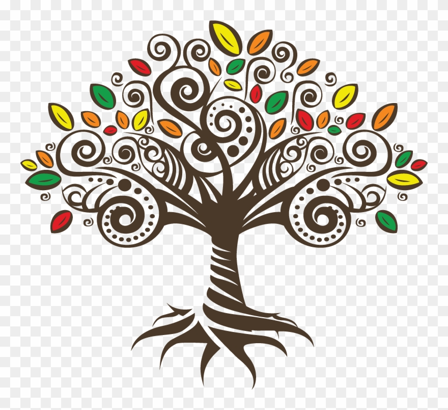 Down 2 Earth Wellness Tree Clipart (#2678162).
