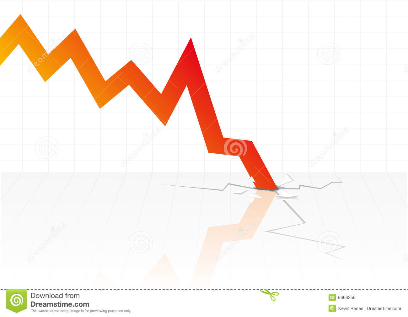 Downfall Stock Illustrations.