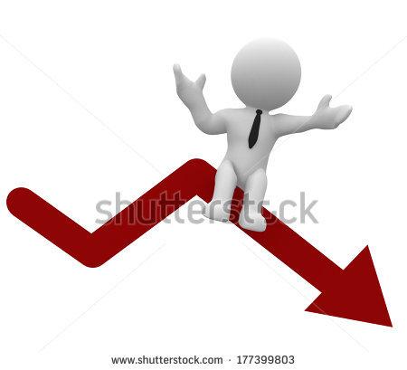 Downfall Stock Illustration 177399803.