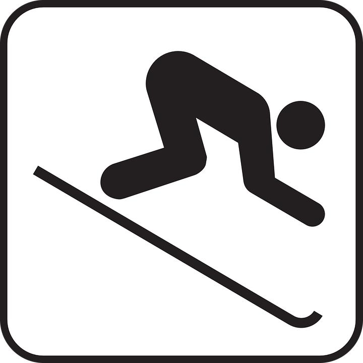 Skiing Clipart Free.