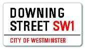 Clipart of Downing Street k17474053.