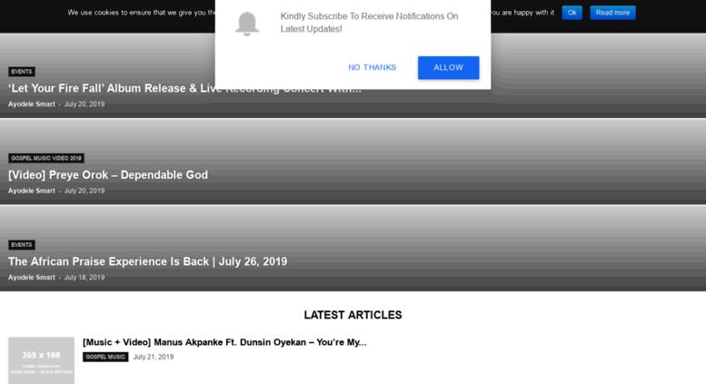 Access gospelhotspot.net. Gospel Hotspot » Download Latest Gospel.