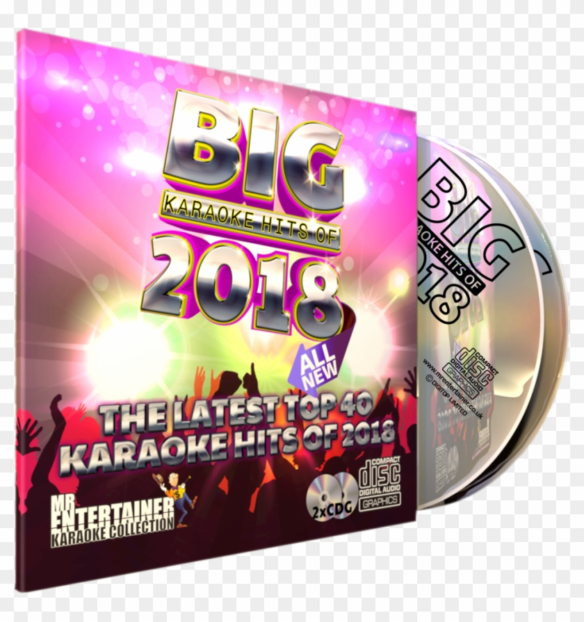 Mr Entertainer Big Karaoke Chart Hits Of 2018 All New.