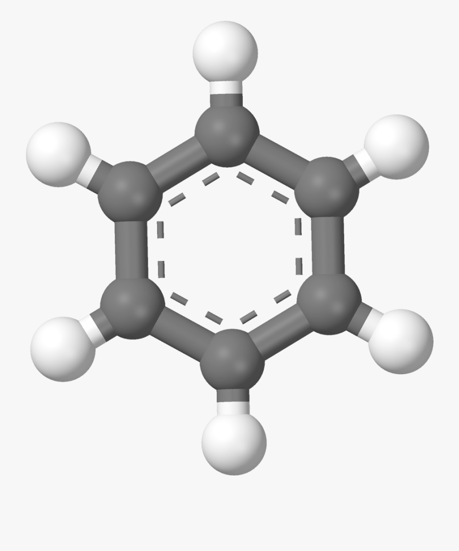 Benzene 3d Clipart , Png Download.