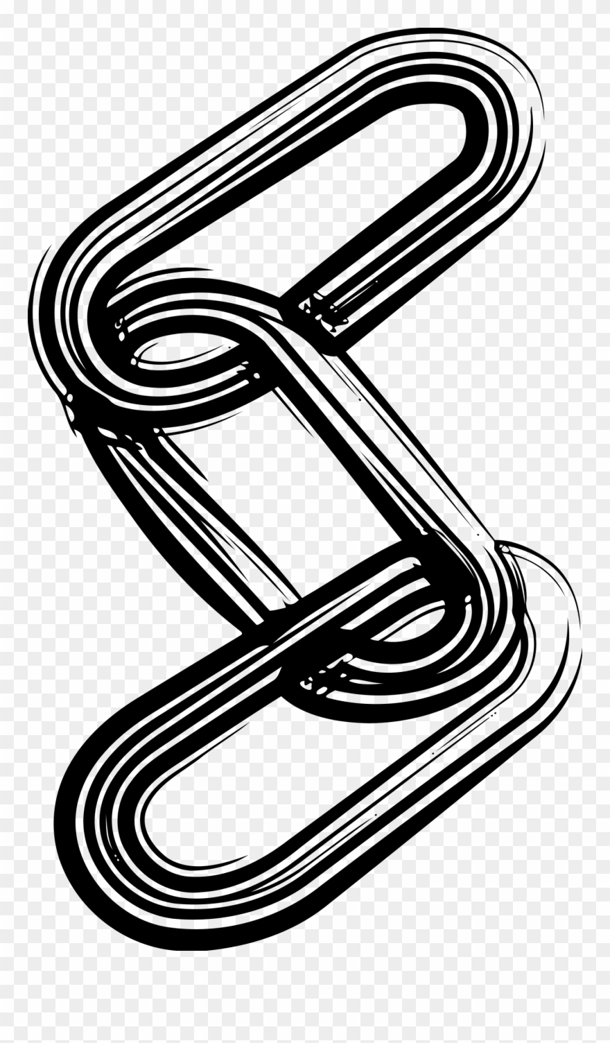Chain Links Clip Art.