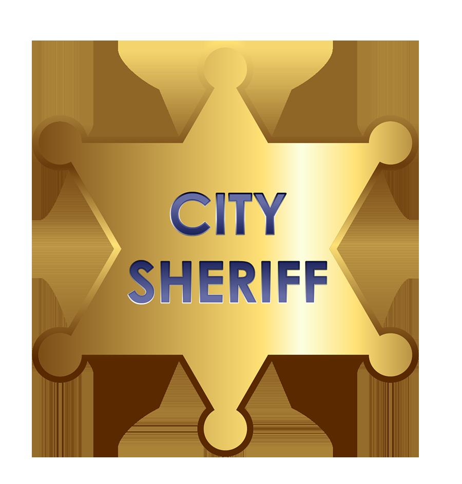 Badge Sheriff Police officer Clip art.