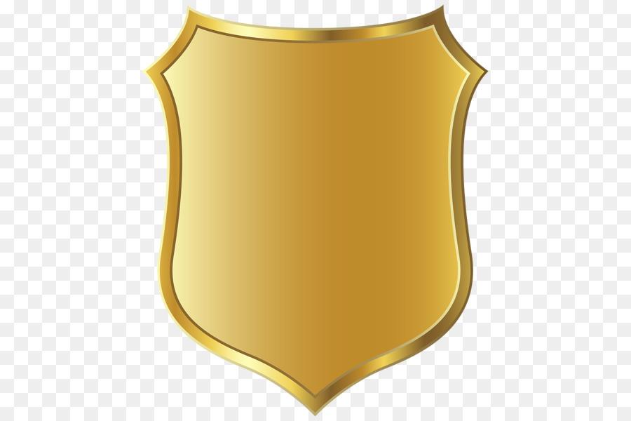 Gold Badge png download.