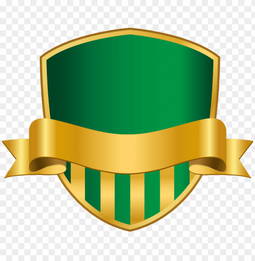 Download badge with banner green clipart png photo.
