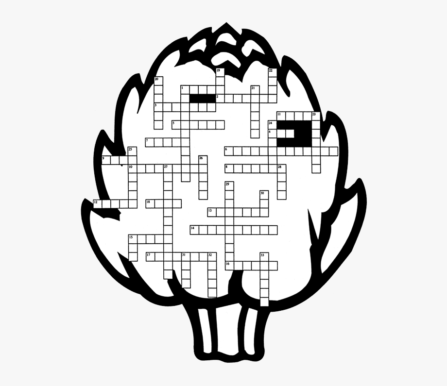 Blank Crossword Puzzle Clipart , Png Download.