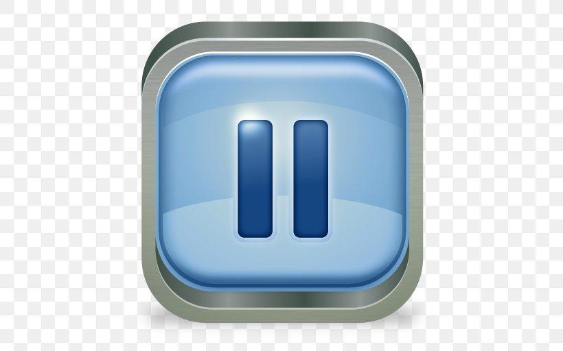 Download Button Clip Art, PNG, 512x512px, Button, Blue.