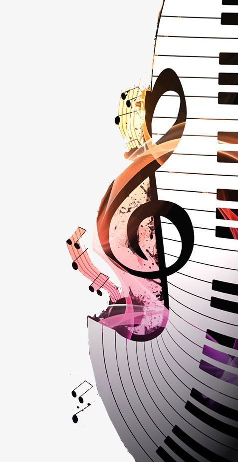 Music Notes Piano, Music Clipart, Piano Clipart, Music PNG.