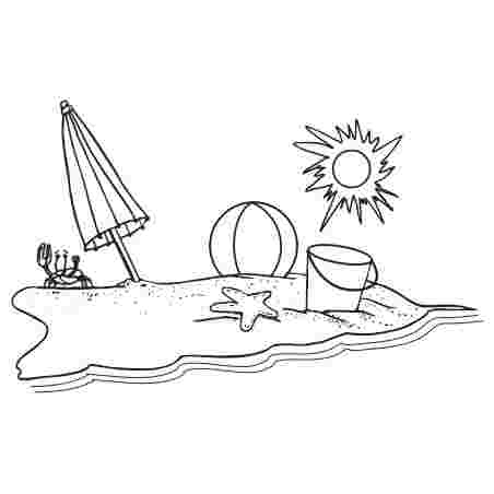 Best Cliparts: Free Santa On The Beach Clipart Black&white.