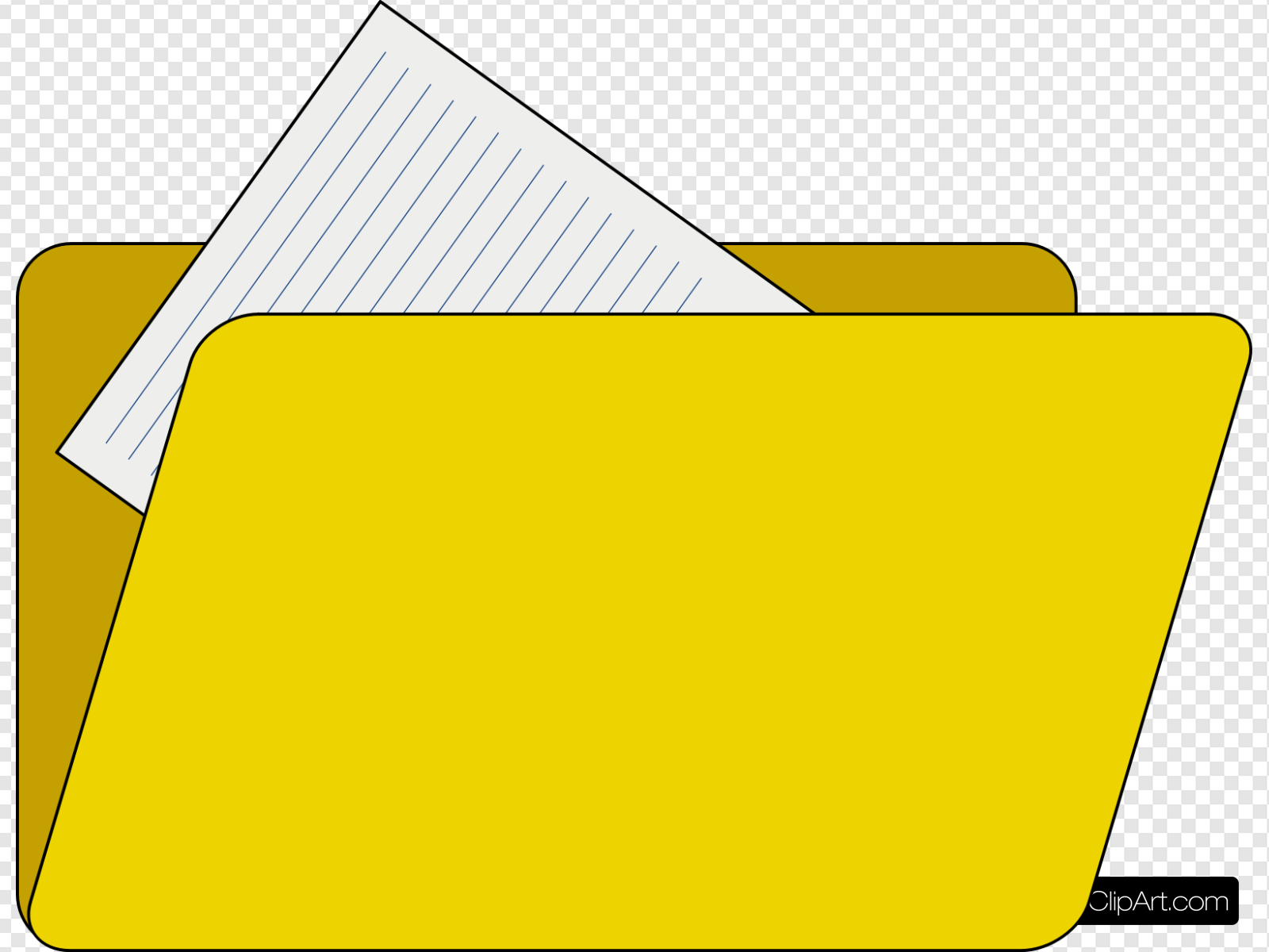 Folder With File Icon Clip art, Icon and SVG.