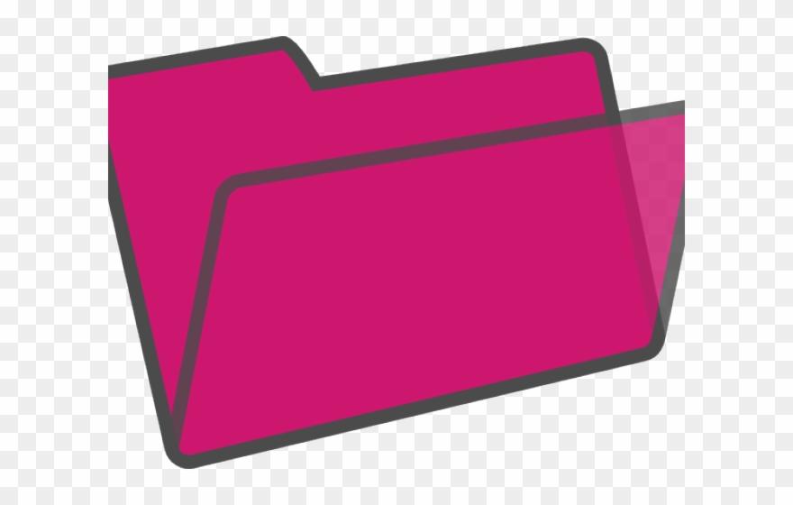 Folder Clipart Pink.