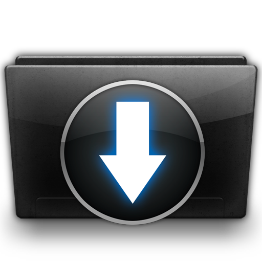 Downloads Folder Icon Free Download as PNG and ICO, Icon Easy.