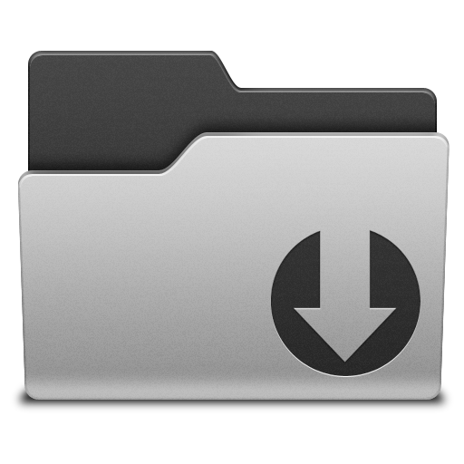 Folder downloading icon png #6982.