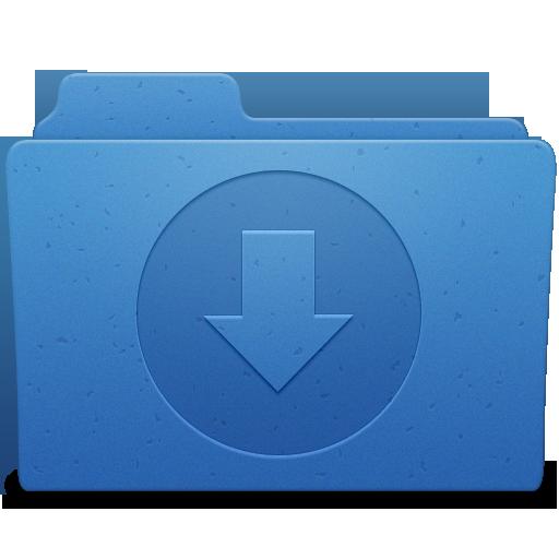 Downloads Folder Icon.