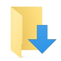 Move Location of Downloads Folder in Windows 10.
