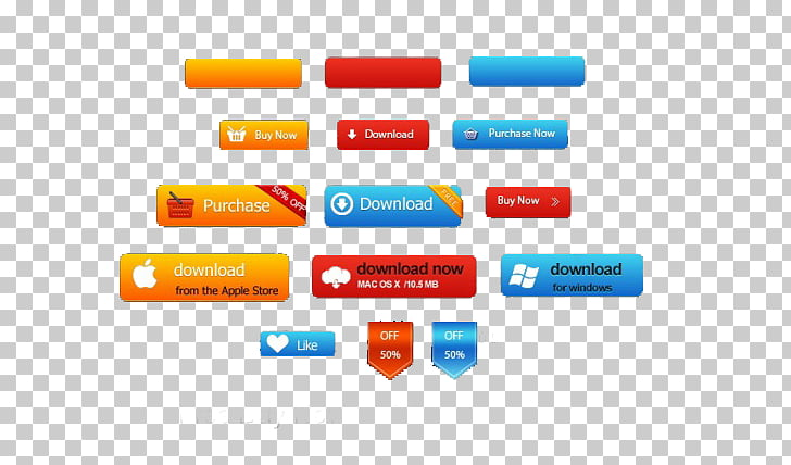 Button User interface Icon, Android button PNG clipart.