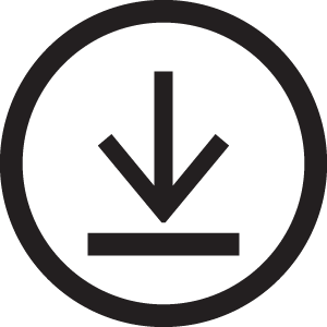 Download icon, down arrow #4392.