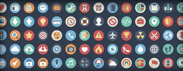 Beautiful Flat Icons.