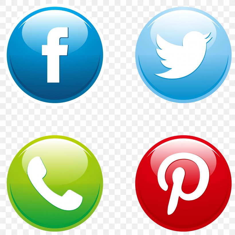 Social Media Button Euclidean Vector Download Icon, PNG.