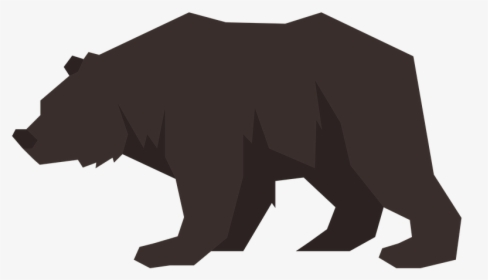 Grizzly Bear Clipart Forest Bear , Png Download.