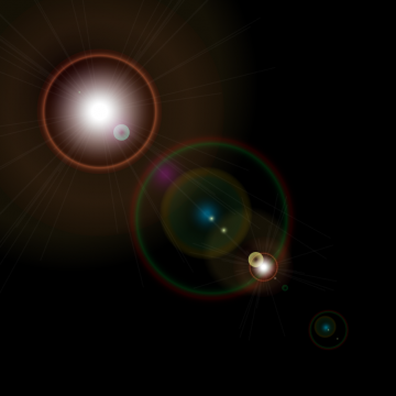 Lens Flare Glow, Lens Clipart, Flare Clipart, PNG and Vector.